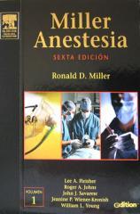 Libro - Miller Anestesia, 6a. Edicion