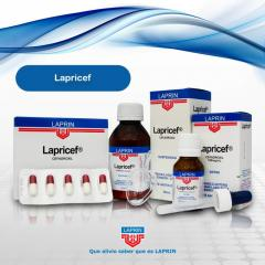 Antibiótico Lapricef