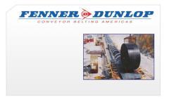 Banda transportadora Fenner Dunlop Conveyor
