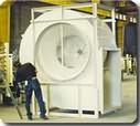 Equipo de ventilación Tipo AP Aspas Planas