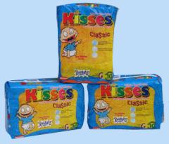 Pañales desechables Kisses Classic