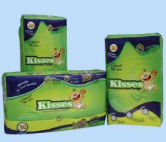 Pañales desechables Kisses 30 unidades