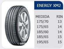 Llantas Energy XM2