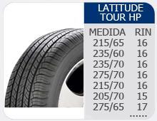 Llantas Latitude Tour HP