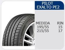 Llantas Pilot Exalto PE2