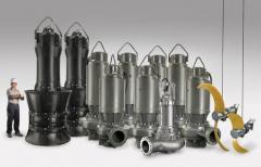 Bombas Sumergidas Grandes Caudales Tipo ARS(CI)