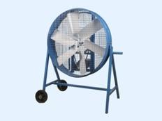 Ventiladores industriales con carrito tipo avicola