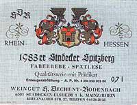 Vino 83er Stadecker Spitzberg