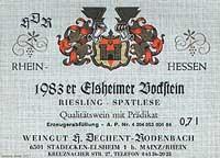 Vino 83er Elsheimer Bockstein