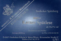 Vino 97er Stadecker Spitzberg