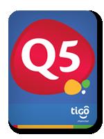 Tarjeta Tigo DE Q5