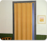 Puerta Plegable de P.V.C.