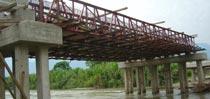 Estructura especial para puentes