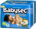 Pañales Babysec Ultra