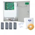 Controlador de Acceso para 4 Lectoras en Kit