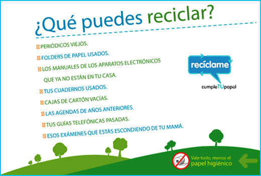 Pedido Recolecion para reciclaje